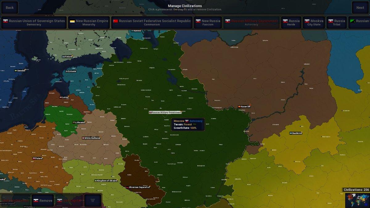 Alternative Modern Day - Scenarios - Age of Civilizations