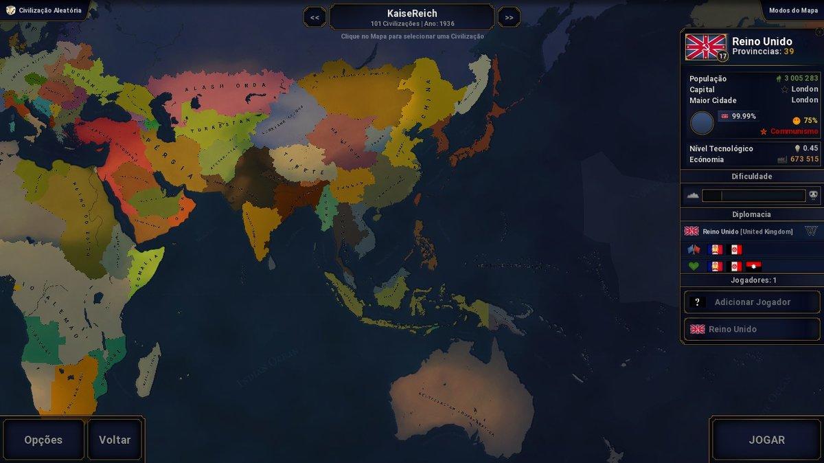 Kaiserreich (HOI4 Style - Scenarios - Age of Civilizations