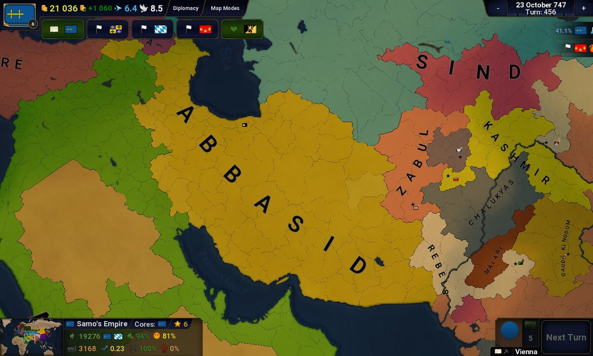 Dark Ages - Rise of Islam ( HIATUS ) - Scenarios - Age of ... Umayyad Calip Map on