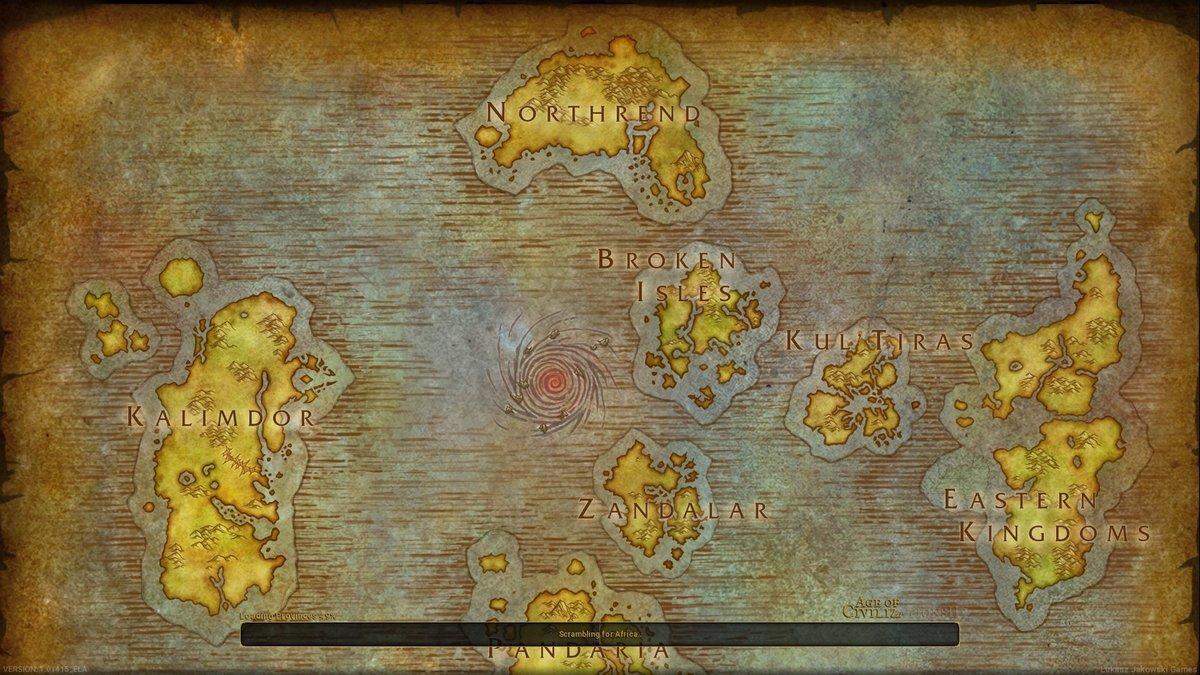 Warcraft (Author: eNeXPi) - Maps - Age of Civilizations