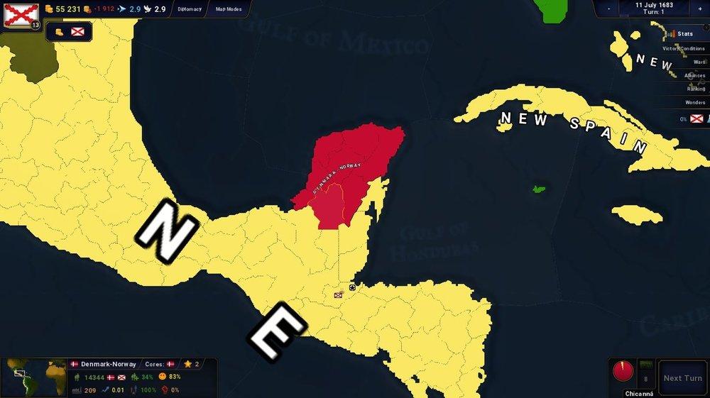 Denmark in Yucatan