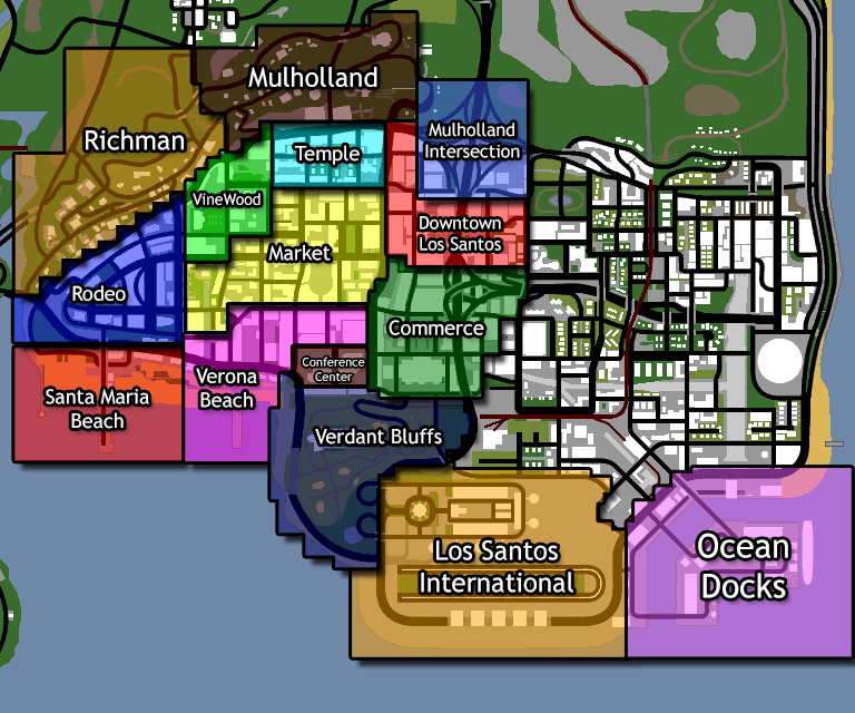 San andreas: battleground gang 18+ - Maps - Age of Civilizations