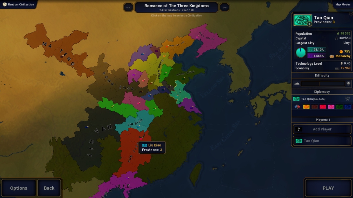 Romance of The Three Kingdoms(Beta)