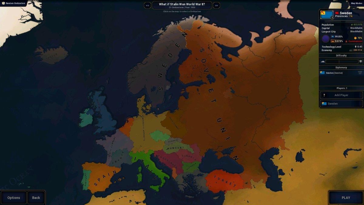 What If Stalin Won World War II? - Scenarios - Offtopic