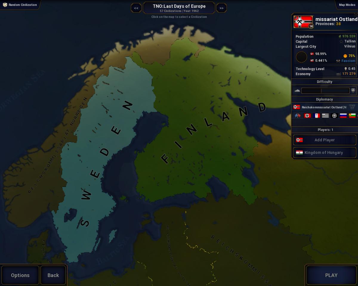 TNO: Last Days of Europe AOC2 (IN DEVELOPMENT) - Mods - Age