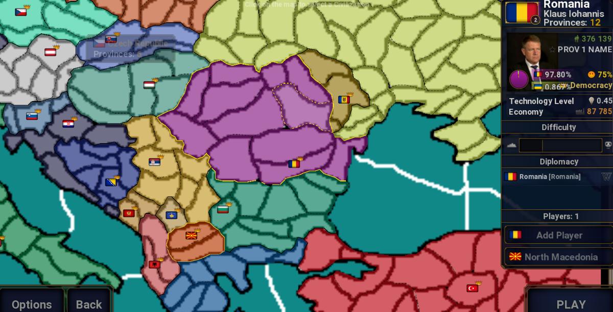 Balkan Map (Version 1 0) - Maps - Age of Civilizations